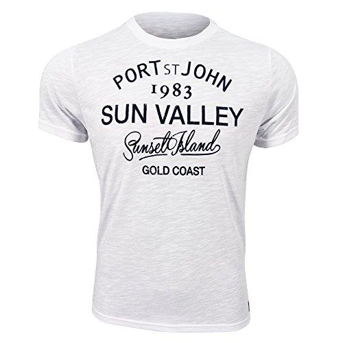Sun Valley Sebra, bianco, XXL