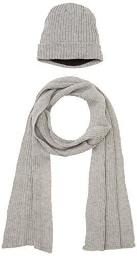 urban-classics-beanie-scarf-hat-and-glove-set-grey-grau-grey-111-one-size