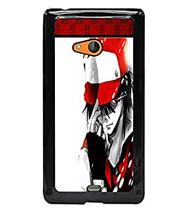 PrintDhaba Playboy D-1337 Back Case Cover for MICROSOFT LUMIA 540 (Multi-Coloured)