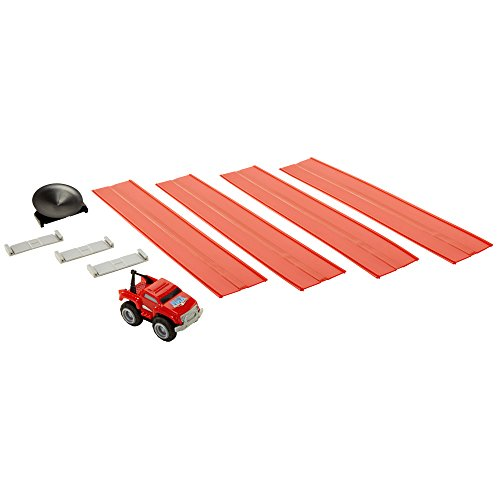 Max Tow Truck 83659 Mini Haulers Red Tow Truck with Track Pieces Vehicle