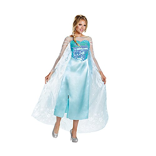 Shindigz Halloween Party Elsa Adult Deluxe Adult Costume