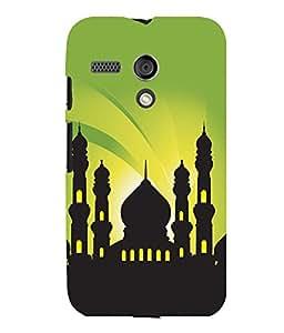printtech Allah Muslim God Back Case Cover for Motorola Moto G X1032::Motorola Moto G (1st Gen)