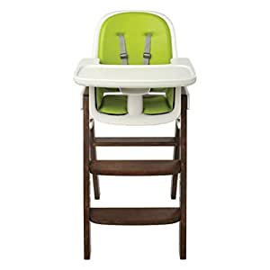 OXO Tot Sprout Wooden Chair, Green/Walnut