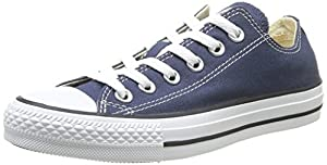 Converse Chuck Taylor All Star Lo Top Navy Canvas Shoes with Extra Pair of Black Laces men's 17