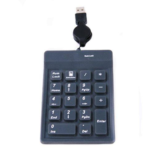 HDE USB Mini Number Pad for PCs Laptops & Notebooks