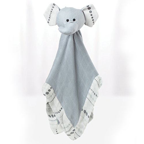 Aden + Anais Bamboo Musy Mate Lovey (Grey Elephant) front-3227