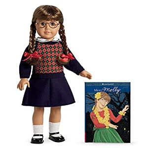 American Girl Molly Doll and Paperback Book