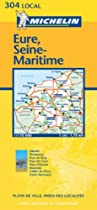 Eure/Seine-Maritime (Michelin Local Maps)
