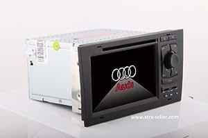Autoradio 7 pouces HD GPS DIVX DVD PIP MP3 USB micro SD TV RDS Bluetooth IPOD avec CAN BUS pour Audi A6