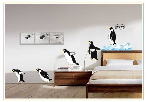 Penguin Wall Decals