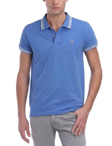 Replay M3045 Men's Polo Shirt Sky Blue Medium