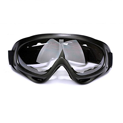 Andux Zone Airsoft X400 Wind Dust Protection Tactical Goggles 5 Colors for Choose GL-04 (clear)