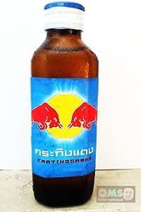 Thai Red Bull Krating Daeng Original Energy Drink 150ml (Pack of 6)
