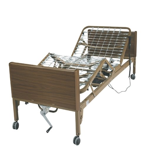 Drive 15033 Full Electric Hospital Bed : Drive Full Electric Bed With Full Length Side Rails And 80""
