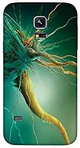 Timpax protective Armor Hard Bumper Back Case Cover. Multicolor printed on 3 Dimensional case with latest & finest graphic design art. Compatible with only Samsung Galaxy S5 mini. Design No :TDZ-20145