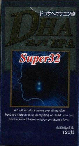 シーバイオ DHAエパSuper32 455mg120粒