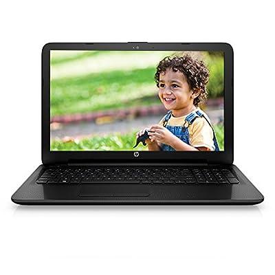 HP 15-ac173TU 15.6-inch Laptop (pentium_3825u/4GB/1TB/Intel HD Graphics), Jack Black Colour with Textured Diamond...