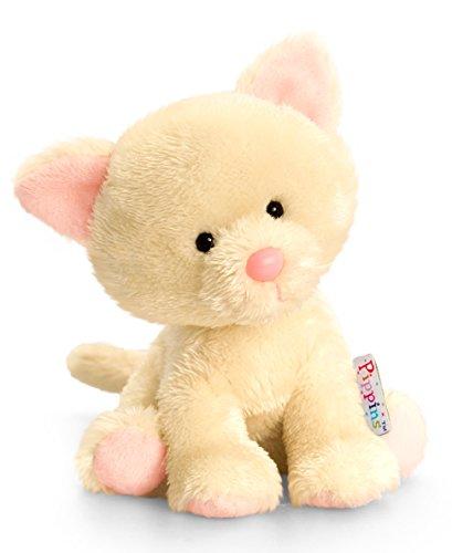 Plüschtier Katze Blossom, beige Mieze, Kuscheltier