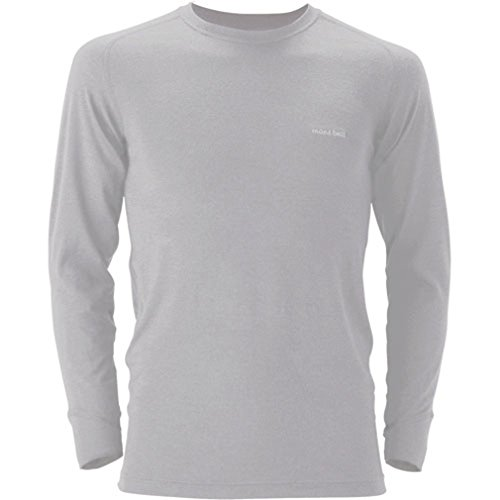 モンベル スーパーメリノウール L.W.ラウンドネックシャツ メンズ