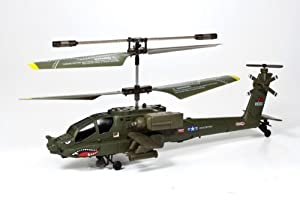 SYMA 3 Channel Micro Apache Radio Control Helicopter by SYMA