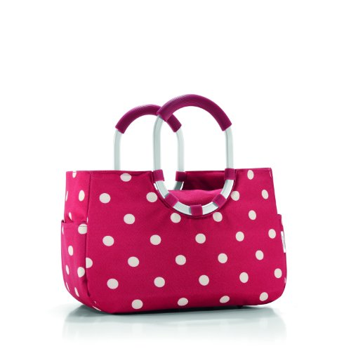 Reisenthel CC0454 Loopshopper M, ruby dots