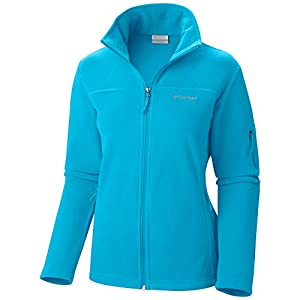 Columbia Women's Fast Trek II Full Zip Fleece Jacket, Atoll, Large