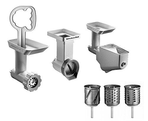 Kitchenaid Fppc Set accessori: setaccio, tritatutto, cilindro per grattugia