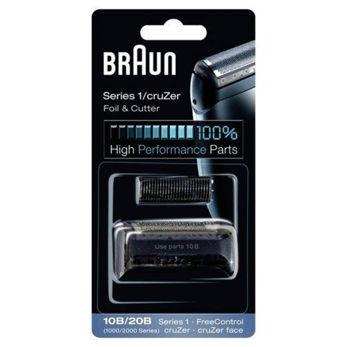 10B BRAUN 1000 Series FreeControl Series 1 Shaver Foil and Cutter Pack Head Replacement (Braun Series 1000 Foil And Cutter compare prices)