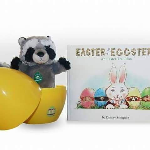 Easter Eggsters: An Easter Tradition (Raccoon)