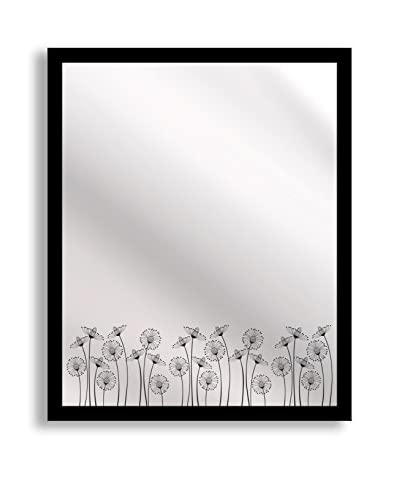 Gallery Direct Blooms Print on Mirror, Multi, 20 x 16