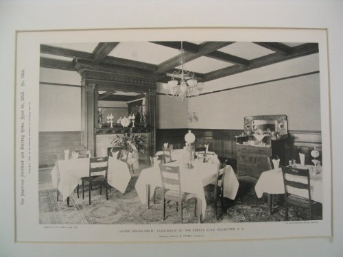 Ladies' Dining-Room in the Club-House of the Eureka Club, Rochester, NY PDF