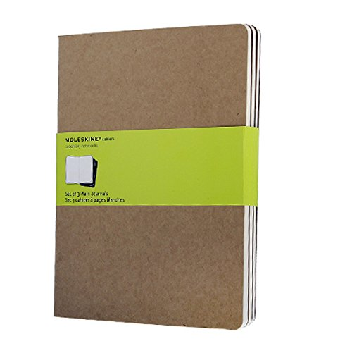 plain-cahier-kraft-cover-extra-large-set-3-quaderni-a-pagine-bianche