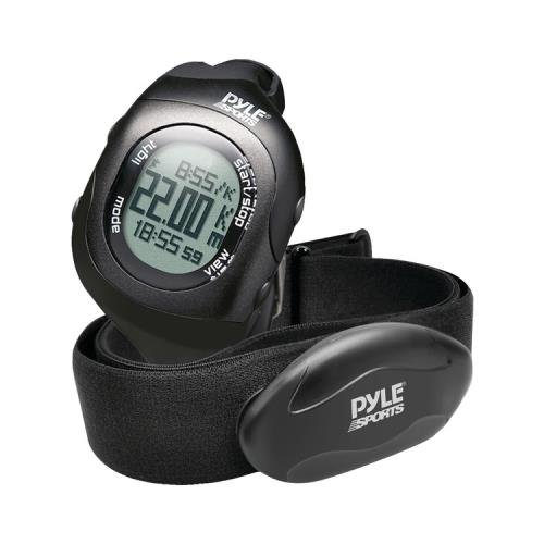 Pyle-Sport Psbthr70bk Bluetooth(R) Fitness Heart Rate Monitoring Watch With Wireless Data Transmission & Sensor (Black)