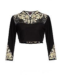 Black Silk Blouse Material