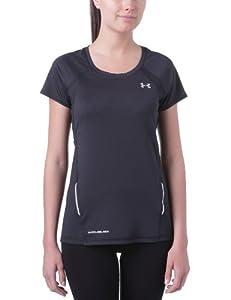 Under Armour Coldblack Run SS T-shirt de running manches courtes femme Noir S