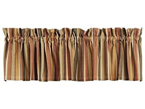 Ihf Home Decor Hawthorne Valance Window Treatments Unlined 100 Cotton 72 Inch X 14