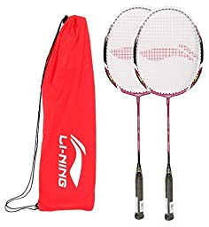 Li-Ning Badminton Racquet Smash Serieswith Extra Grip XP 70 II