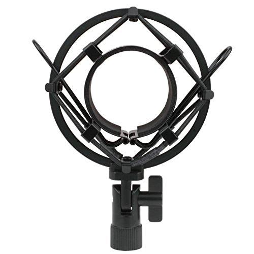Zramo Th106 Black Spider Universal Microphone Shock Mount Holder
