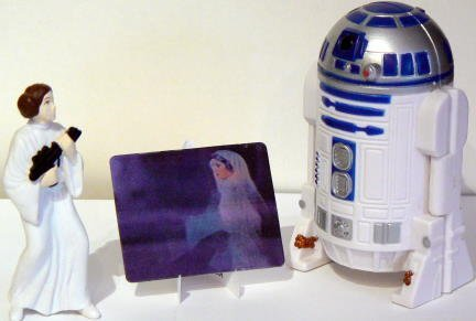 STAR WARS: Trilogy ~ R2-D2 Playset - Taco Bell - 1