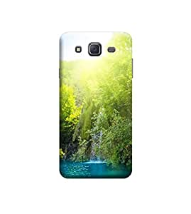 Ebby Premium Back Cover For Samsung Galaxy J7