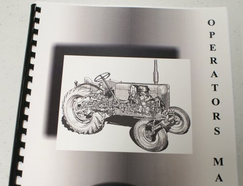 John Deere 46-Inch Quick Hitch Snowthrower OEM Operators Manual