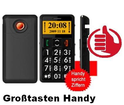 Rentner / Senioren Notruf Handy mit SOS Notruf Taste - ideal für ältere Menschen