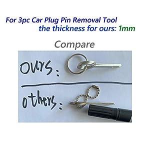 Adduswin 14pcs T0025D Auto Terminals Removal Key Tool Set
