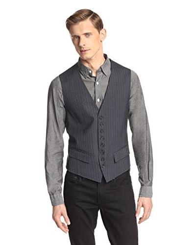 John Varvatos Collection Men's Front Cutaway Vest