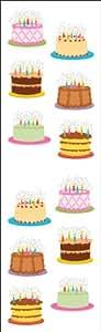 Mrs Grossman Mrs. Grossmans Stickers Birthday Cakes