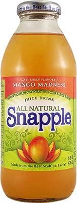 Snapple Mango Madness 16 FL OZ (473ml) x6 von Snapple Beverage Corp - Gewürze Shop