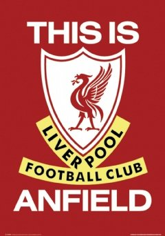 Gloss Laminated – Liverpool FC Poster This Is Anfield Football Club New – 36 x 24 Inches (91.5 x 61 cms)