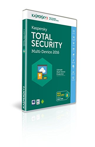 Kaspersky Total Security 2016 Multi Device - 3 Device - 1 Year (PC/Mac/Android)