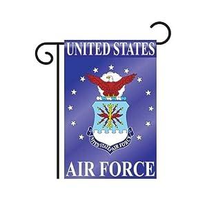 air force garden flag indoor outdoor 13 5 x 18 patio lawn garden