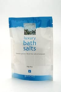 Dead Sea Salt - Luxury Bath Salts by Jericho (Kiwi Scent) - The Ultimate Bath Relaxation Experience